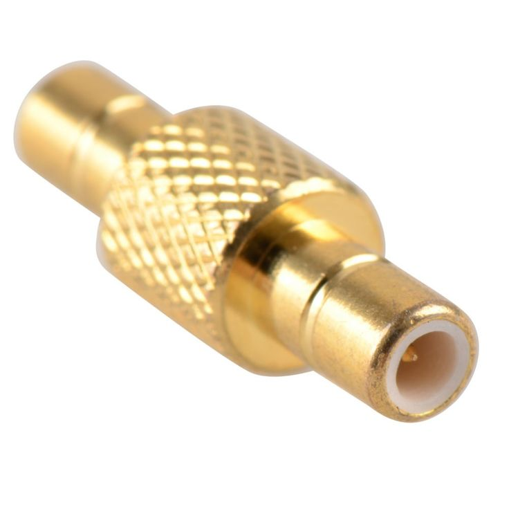 New Arrival High Quality Adapter SMB Male To SMB Male Plug RF Connector Straight Brass Gold Plating Tools VC728 P20 #Affiliate