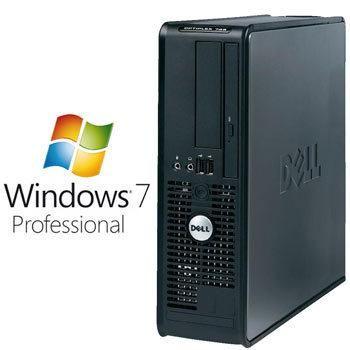 Calculatoare Refurbished Dell Optiplex 760 dt, E7400, Win 7 Pro MAR