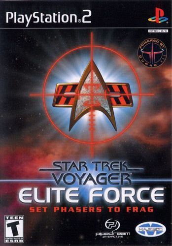 Star Trek Voyager Elite Force - PS2 Game