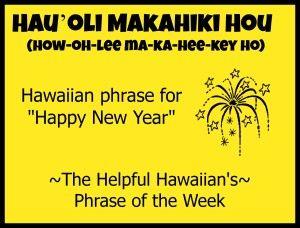 Hau'oli Makahiki Hou