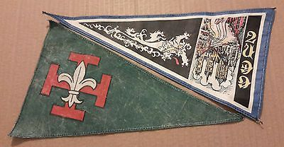 A-pair-of-vintage-Scouts-pennants-as-shown