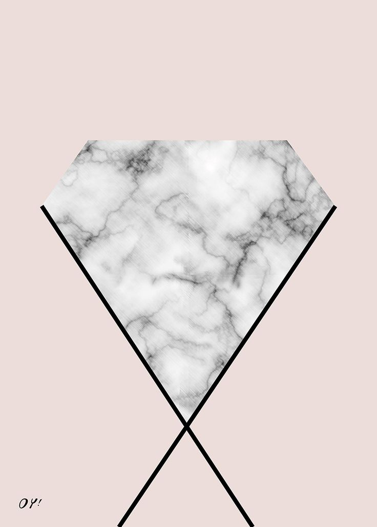 marble & diamond print society6 #diamond #kristals