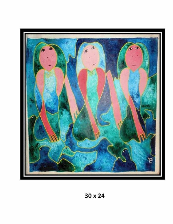 Levoy Exil - world renowned Haitian painter & my dear of Saint Soleil movement