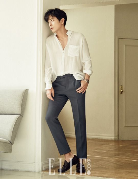C.N Blue Yong Hwa - Elle Magazine May Issue '16