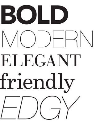 "I love ""Evelyn Francesca"" to be in a fancy script font and ""events and design"" to be in  a modern font...just an idea :)"
