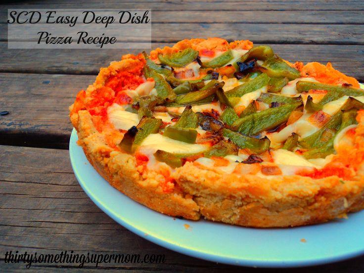 SCD Homemade Deep Dish Pizza Recipe