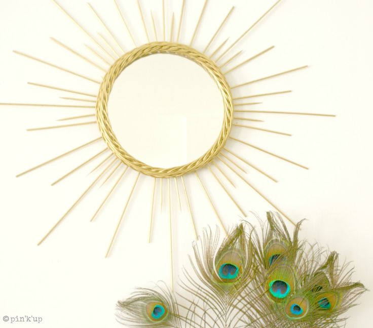 Retour du miroir soleil diy deco it yourself for Miroir soleil deco
