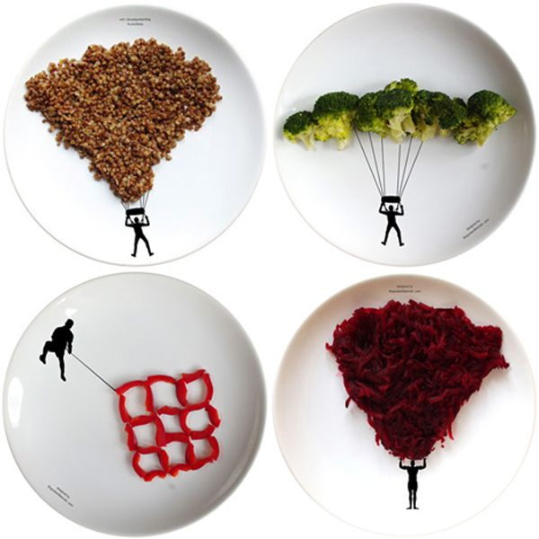 Food Art: Food Recipes, Polish Design, Boguslaw Sliwinski, Design Boguslaw, Foodart Food, Fun Plates, Food Plates, Food Art, Art You Cans Eating