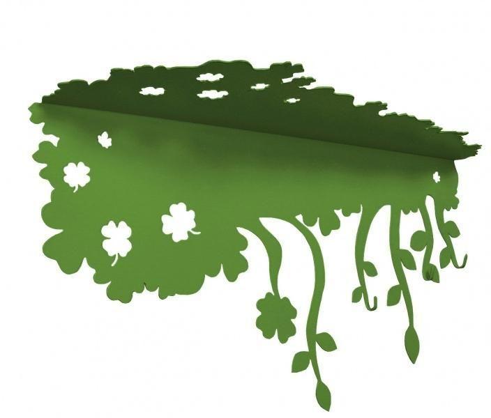 Półka - Laskowscy Design - Summer zielona