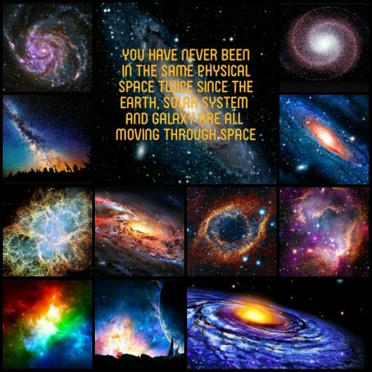 You have never been in the same physical space twice since the earth, solar system and galaxy are all moving through space