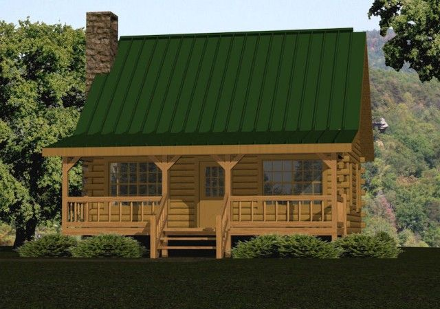 The Cabin Series from Battle Creek Log Homes features small log cabin kits & floor plans. Check out our small log cabins to find the perfect floor plan for you!