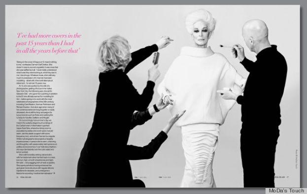 Carmen Dell'Orefice – 82 letnia kobieta – jest jedna z najsłynniejszych modelek na świecie. Cały czas pracuje i nie myśli o emeryturze. Pozuje do sesji zdjęciowych i występuje podczas pokazów mody - http://louloublog.pl/carmen-dellorefice-82-letnia-modelka/