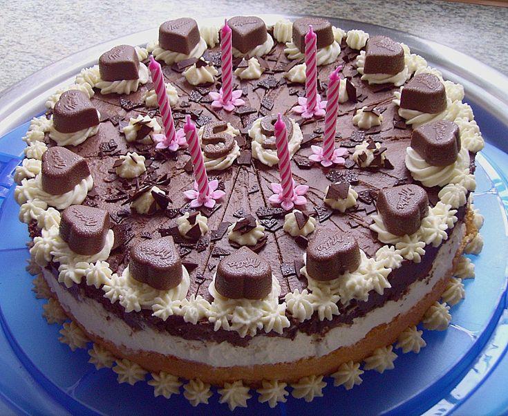 Milka - Herzen - Torte, ein schönes Rezept aus der Kategorie Backen. Bewertungen: 62. Durchschnitt: Ø 4,5.