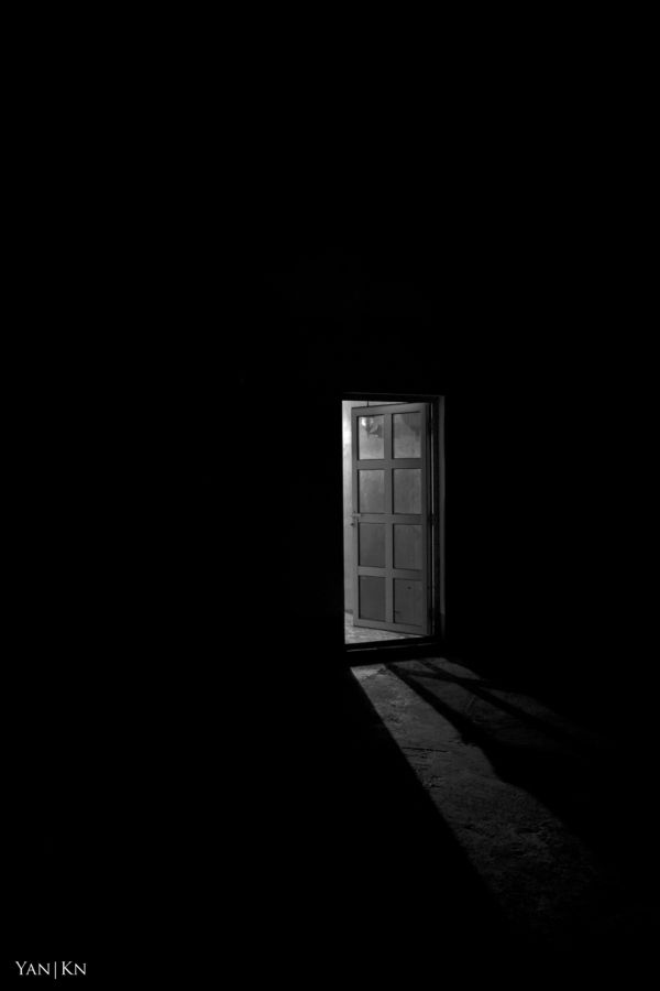 Lonliness, Hope, Doorway, Dark, Light... what do you see?