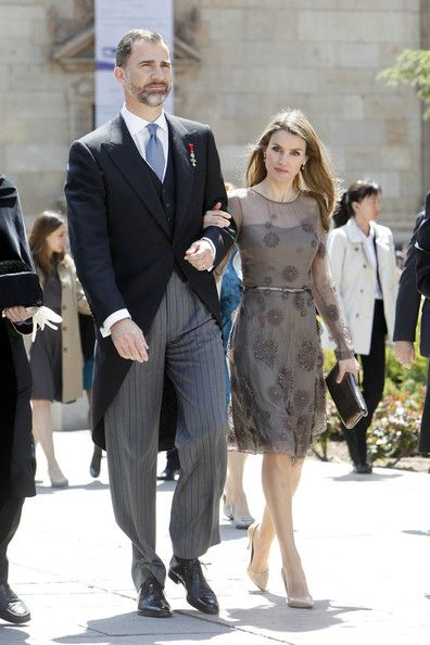 Princess Letizia - Spanish Royals Attend Award Ceremony in Madrid