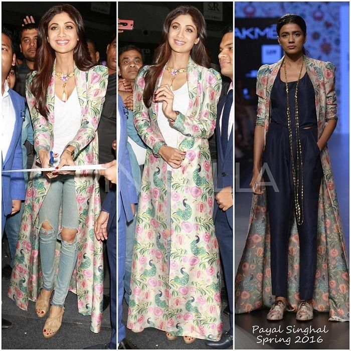 Yay or Nay : Shilpa Shetty in Payal Singhal | PINKVILLA