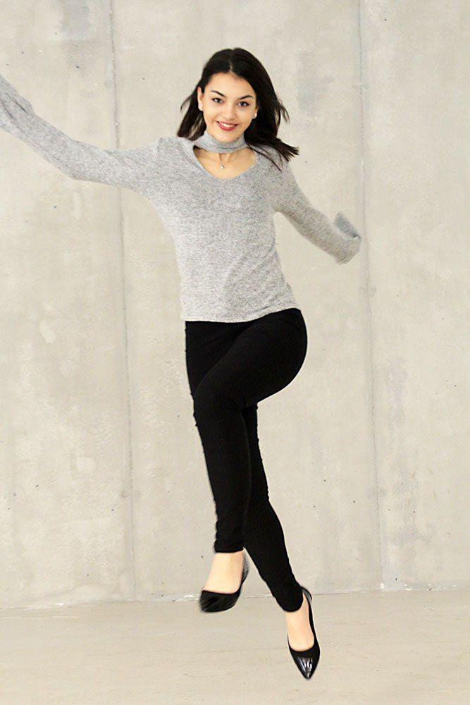 Dorie Sprung Bershka Pullover