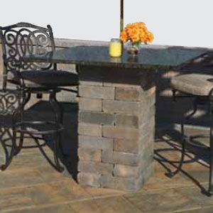 Add A Cambridge Pavingstones Outdoor Living Kit To Your Backyard, Like This  Table.