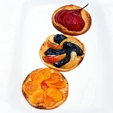 Apricot Galettes with Amaretto by delia smith