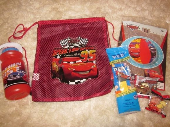 Cars Themed Party Loot Bag