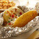 Gepofte aardappelen uit de oven (pittig) recept - Aardappel - Eten Gerechten - Recepten Vandaag