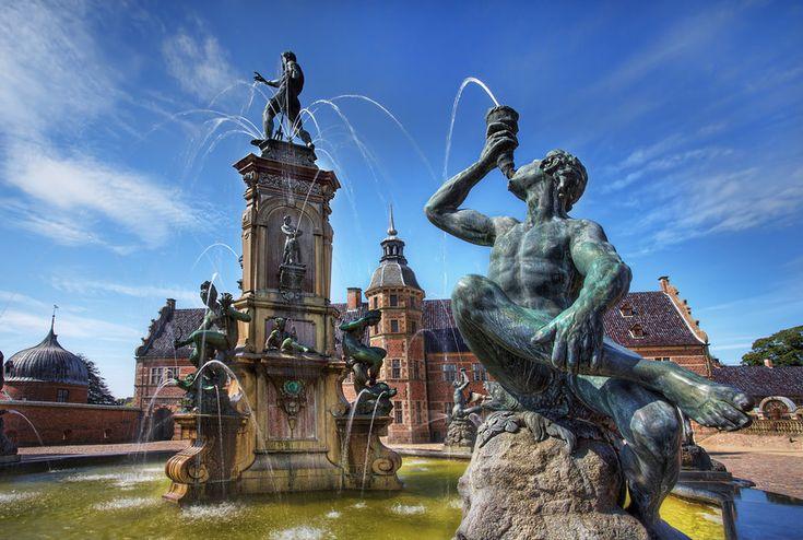 Fountain in Kings Summer Castle