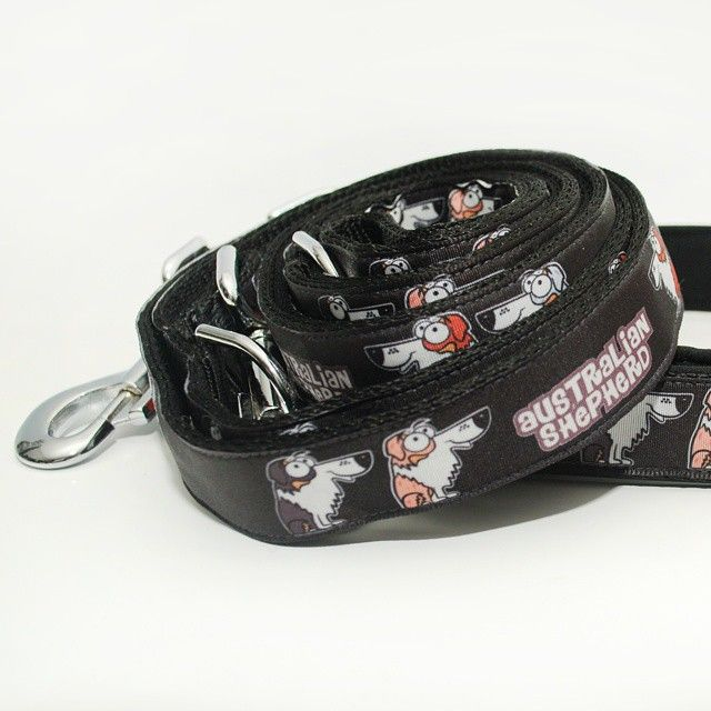 "Vodítko Blackberry ""Australian Shepherd"" 