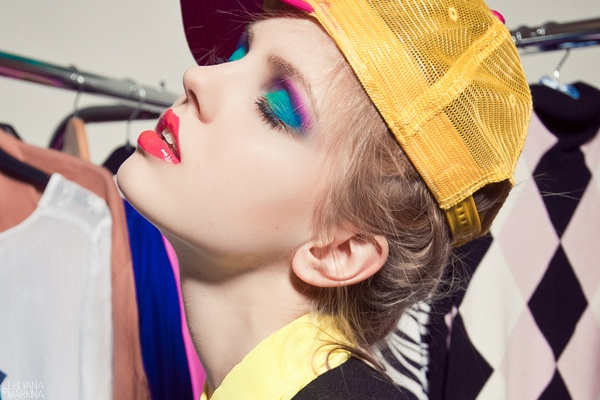 MAKE UP by Lelyana Markina by Lelyana Markina, via Behance