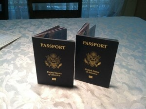 How to get a passport for your child.