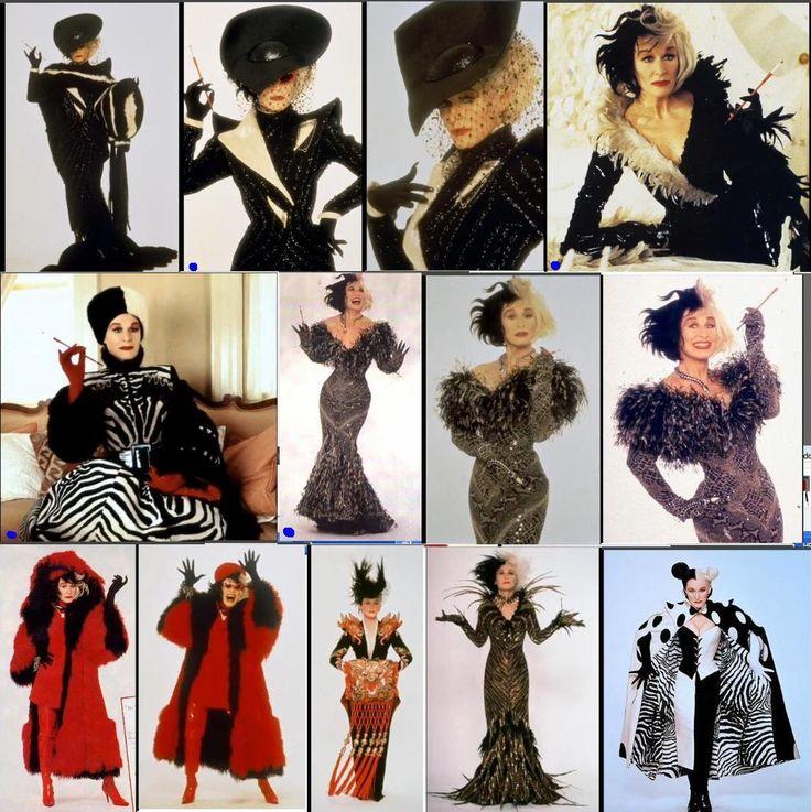 cruella de vil costume movie costume pinterest inspiration the movie and cruella deville. Black Bedroom Furniture Sets. Home Design Ideas