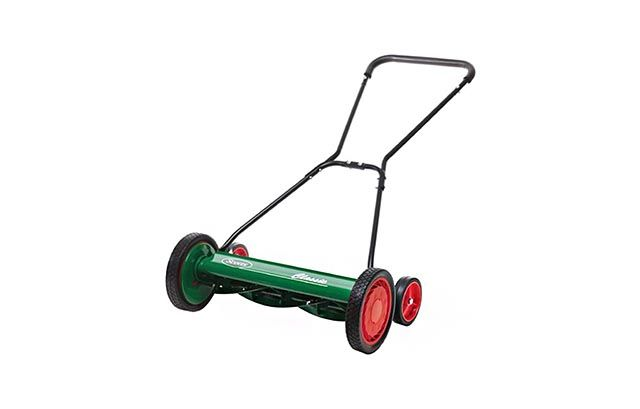 The best reel lawn mower for people who want to mow the old-fashioned way is the Scotts Great States 2000-20S 20-Inch Classic Reel Mower, which costs about $130