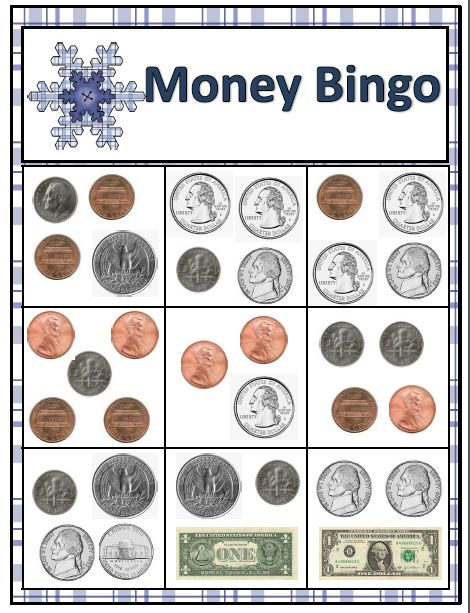 Snowballs for sale: Money bingo
