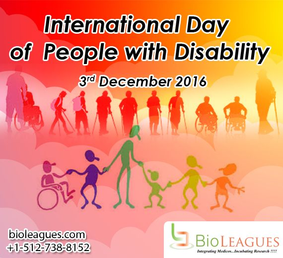 """Today is International Day of People with Disability (IDPwD). A day to rejoice the incredible contribution people with disability make to the world """"Disability is in your mind it is not physical"""""""