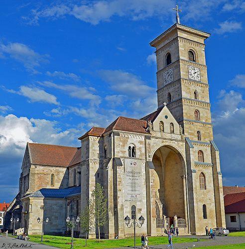 Catedral de Alba Iulia. Romania.