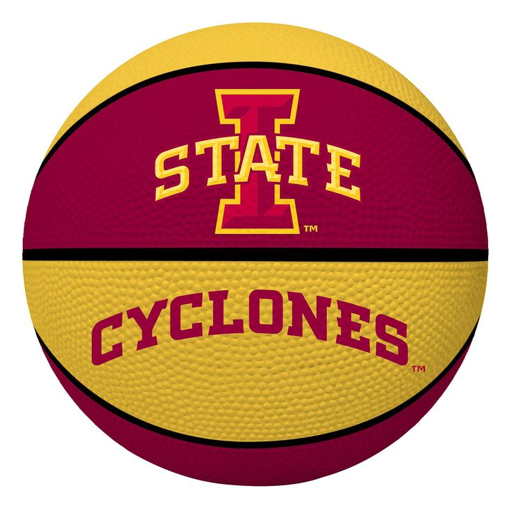 NCAA Iowa State Cyclones Rawlings Crossover Full Size 29.5 Basketball