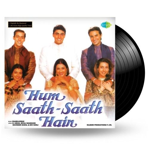 Hum Saath Saath Hain - 15151 - LP Record - PRE ORDER Visit - http://ngh.co.in/vinyl-records-12/new-released-lp-records/hum-saath-saath-hain-lp-record.html #NewGramophoneHouse