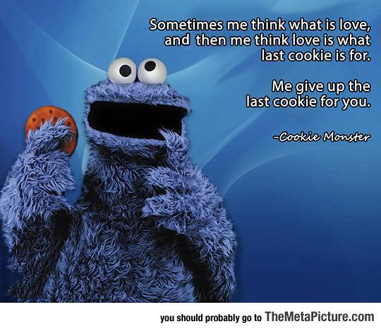 1000 Sesame Street Quotes On Pinterest: 25+ Best Cookie Monster Quotes On Pinterest
