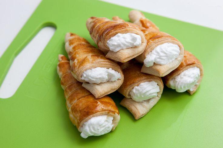 Трубочки с белковым кремом - пошаговый рецепт с фото: Легко приготовить в домашних условиях. - Леди Mail.Ru