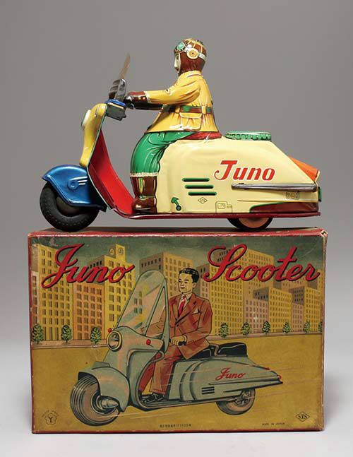 tin Juno scooter