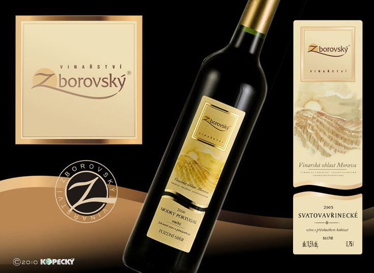 packaging, wine design logo - roman kopecky