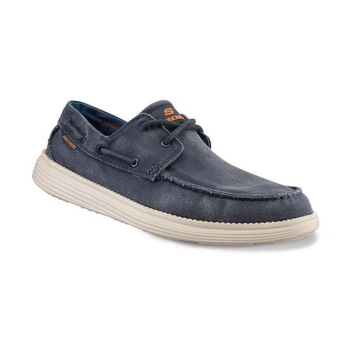 Skechers Relaxed Fit Status Melec Men S Boat Shoes