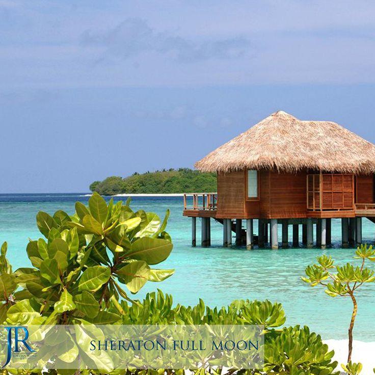 Sheraton Full Moon #Maldives #Travel #Jordan_Road #Honeymoon #Sea #Beach