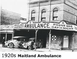 Maitland Ambulance Station, located near Maitland Town Hall,in High Street, Maitland. v@e.
