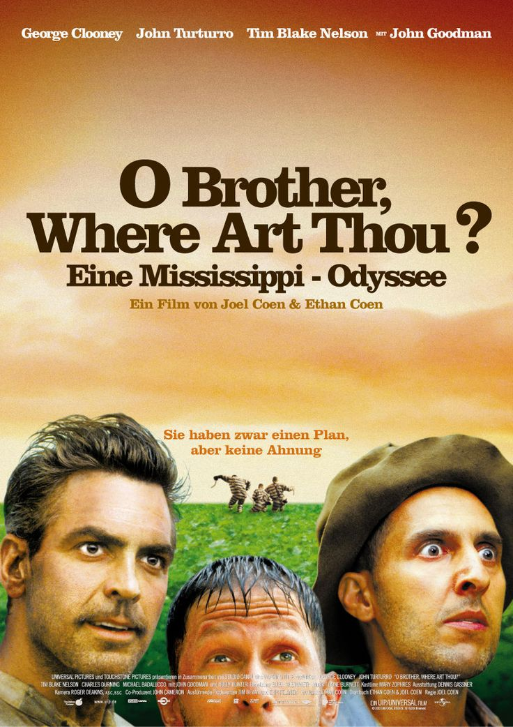 O Brother, Where Art Thou? | Movie Posters | Pinterest