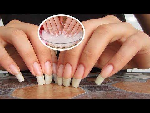 Cómo quitar las uñas acrílicas con agua caliente - YouTube