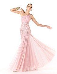 Pronovias apresenta o vestido de festa Rumbo da coleção 2014. | Pronovias