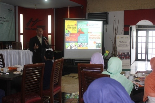 ACT Bersama LAZNAS BSM Suguhkan Workshop Creative Lesson Plan