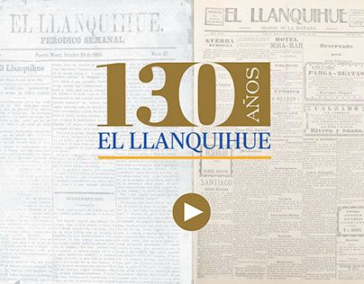 """Check out new work on my @Behance portfolio: """"Video promocional 130 años Diario El Llanquihue"""" http://on.be.net/1HLvyRc"""