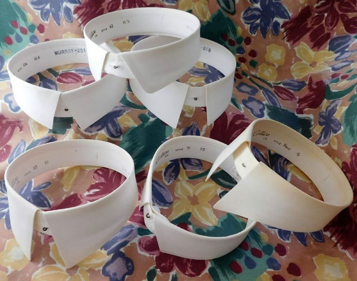 Vintage day collars made in the mid 20th century in a choice of styles These collars were made in England by Collars Limited This company was trading