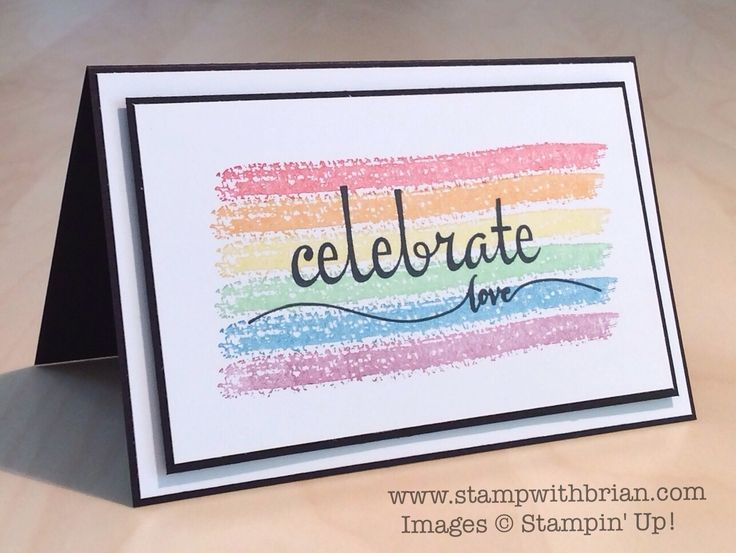 Work of Art, Fabulous Four, Hello Life, Stampin' Up!, Brian King